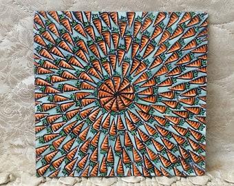 Carrot Craze Small Art
