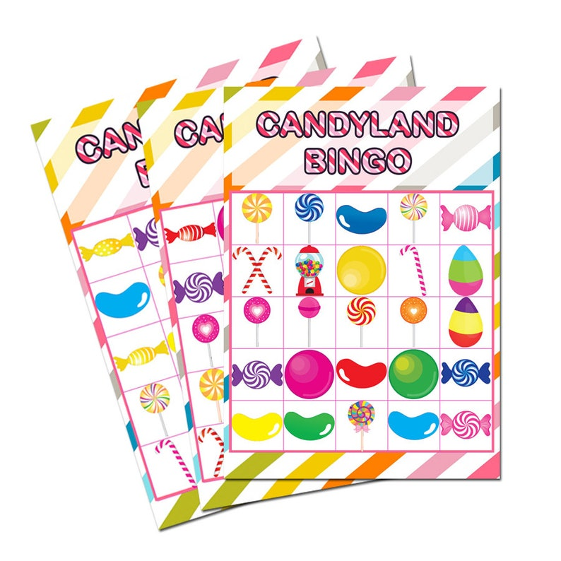 photograph regarding Printable Candyland Cards known as Candyland Bingo Playing cards Printable - 30 Playing cards , Candyland decorations, Candyland, Candyland occasion video games, Adorable shoppe- Electronic History Basically