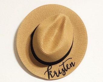 95bbfaa48ff09 Hand Lettered Panama Hat