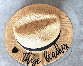 3a3fe013a88 Love These Beaches Panama Hat