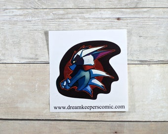 Bast Sticker- Dreamkeepers Stickers- Anthro Decals- DK038