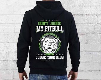 bba17f65 PItbull Hoodie - PItbull Mom - Pitbull Dog - Mens Hoodie - Womens Hoodie -  Pullover Hoodie - Hooded Sweatshirt - Pitbull Mom Hoodie