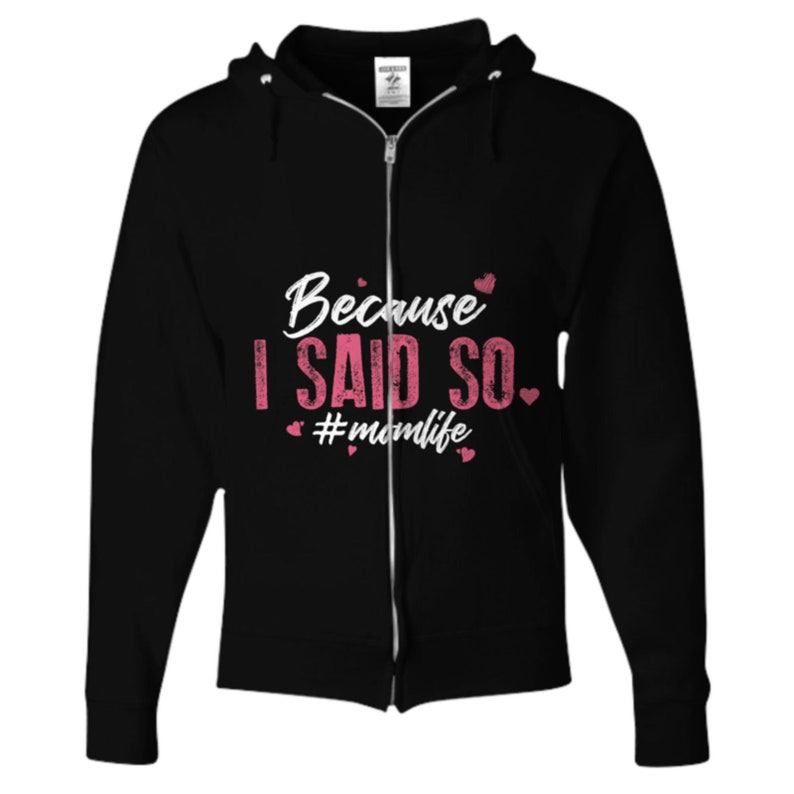 Custom Zipper Hoodies Hoodie Women Mom Gift Ideas Mom Gift From Daughter Mothers Day Gift Mom Gift From Son Zip Hoodie For Women