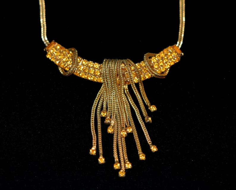 Vintage gifts. Gift-for-Her Vintage Jewelry Vintage Art Deco Choker Necklace 50s Vintage Necklace Jewelry Gifts