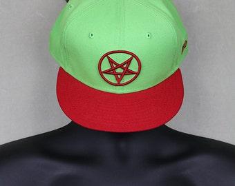 Deicide snapback cap vintage concert tour trucker hat not t  509cccd6ac42