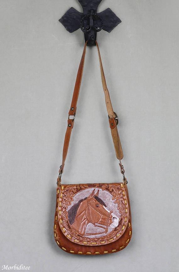 Floral Leaaf Animal Unicorn for Women Handbag Crossbody Tote Bag Fashion Vintage Leather Purse