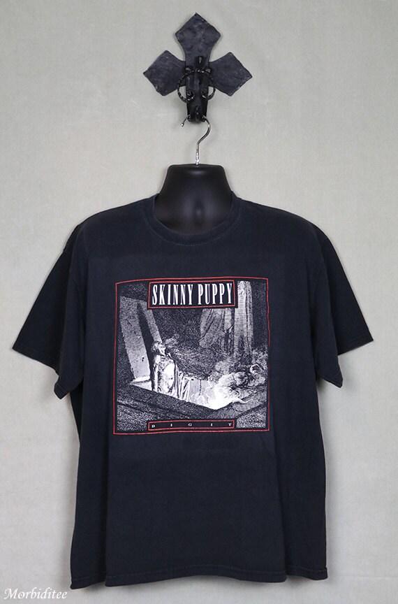 Skinny Puppy t-shirt, Dig It, vintage rare shirt,
