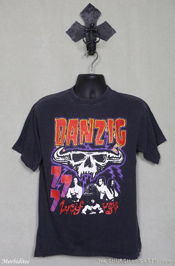 Vintage Danzig shirt, Lucifuge, Misfits Samhain, r
