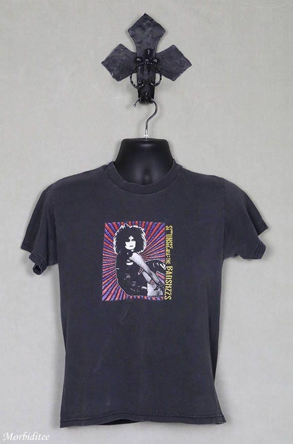 Siouxsie t-shirt, vintage rare tee shirt, Siouxsie