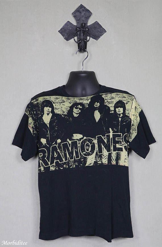 The Ramones t-shirt, vintage rare tee shirt, black