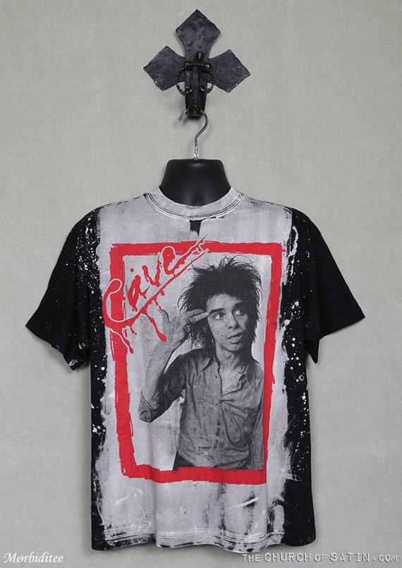 Nick Cave t-shirt, vintage rare soft Mosquitohead