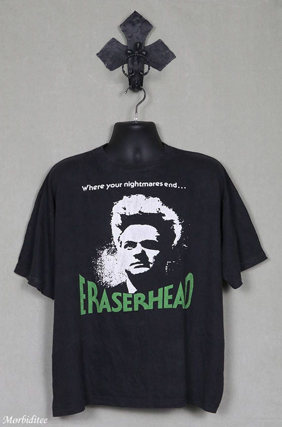 Eraserhead movie T shirt, vintage rare t-shirt, Da