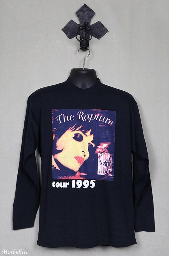 Siouxsie t-shirt, vintage rare concert tour tee sh