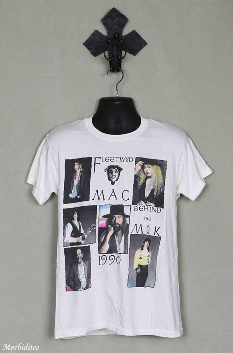 Stevie Nicks- Art Nouveau Style- B&W Fitted T-Shirt