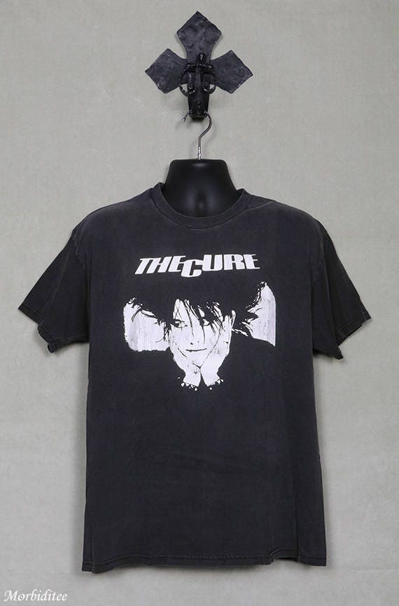 Goth Dress Robert Smith The Cure T-shirt The Cure Shirt The Cure Dress