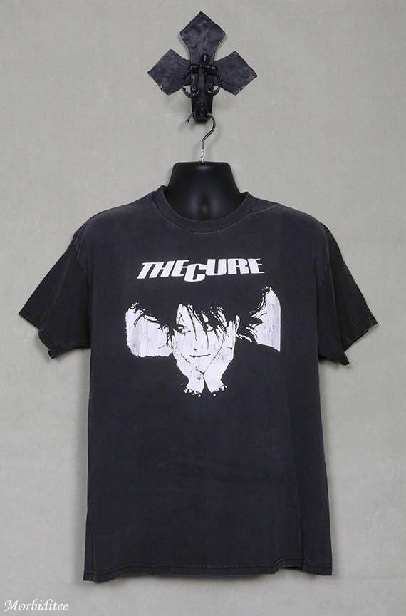 The Cure t-shirt, vintage rare black tee shirt, Ro