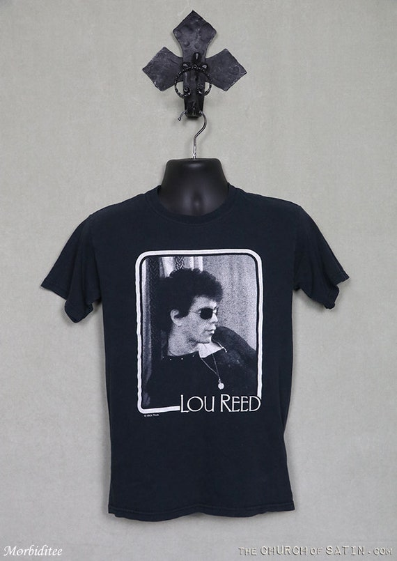 Lou Reed t-shirt, vintage rare tee shirt, Velvet U