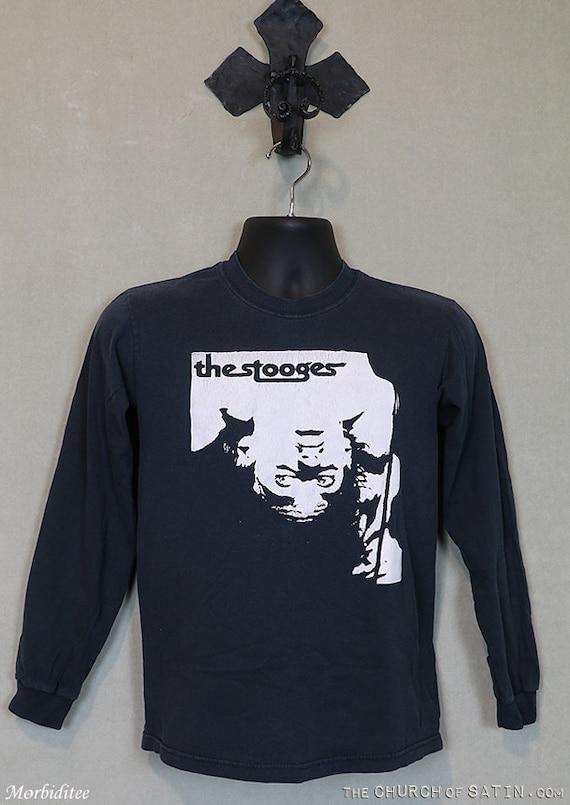 The Stooges, Iggy Pop shirt, vintage rare t-shirt,