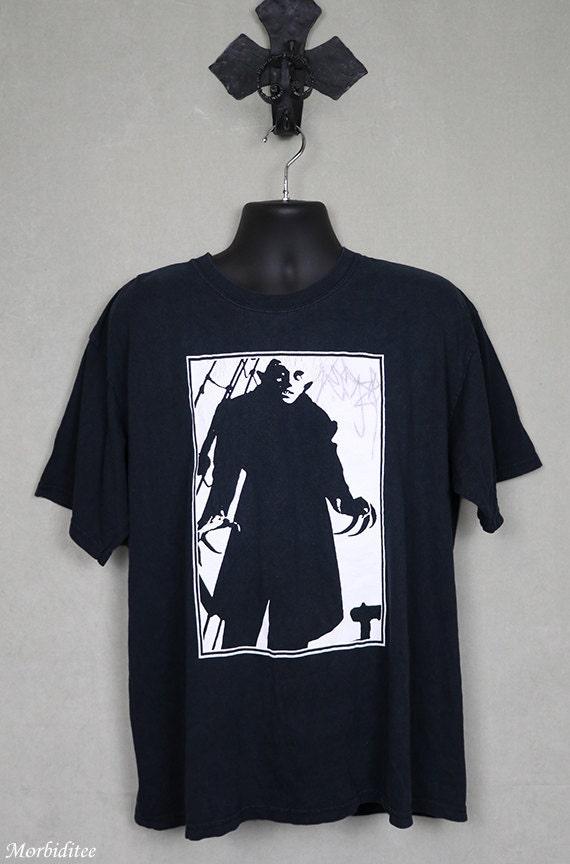 Nosferatu horror movie t-shirt, vintage vampire te