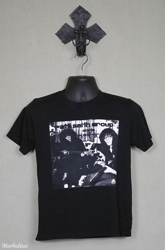 Patti Smith Group t-shirt, vintage rare tee shirt,