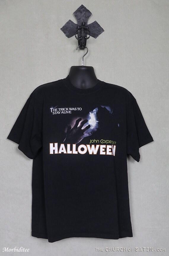 Halloween 70 S Horreur John Carpenter Movie Poster Iron on T-Shirt Transfert A5