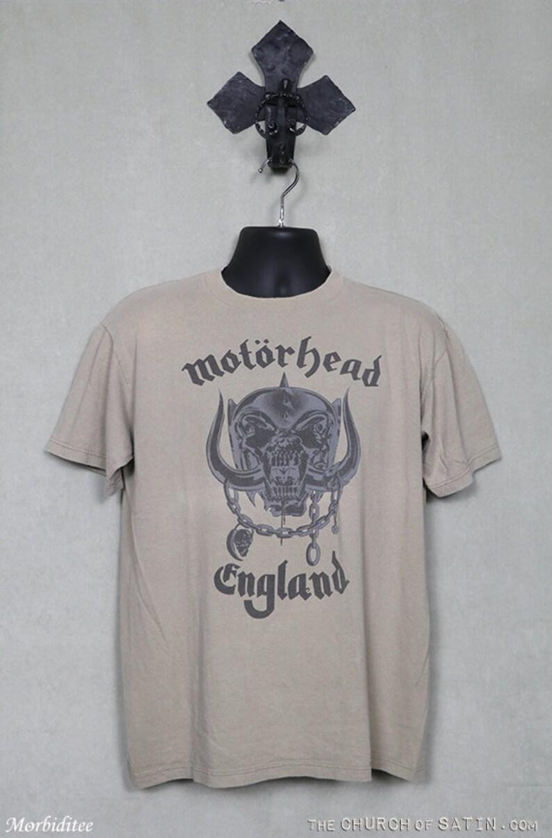 c1c6cd4b Motörhead t shirt vintage tee shirt Motorhead Lemmy | Etsy