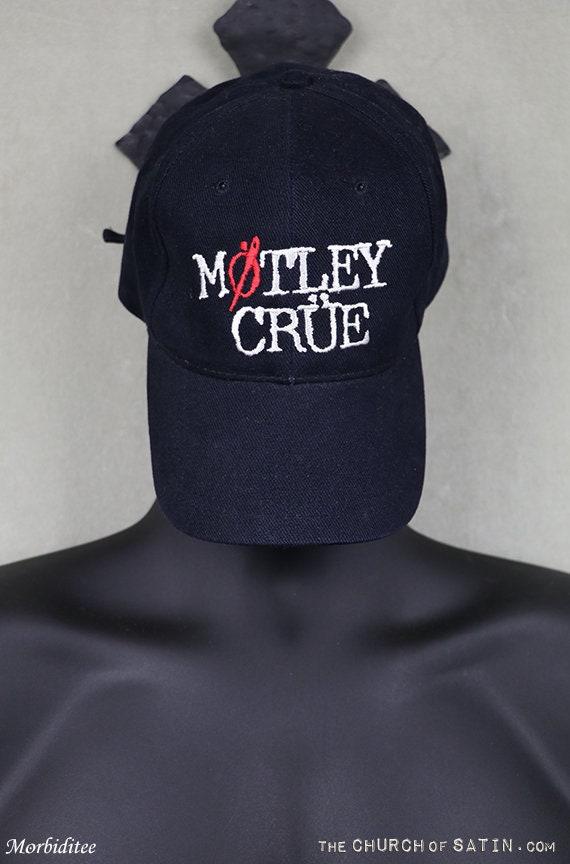 Motley Crue baseball cap, vintage hat, not t shirt