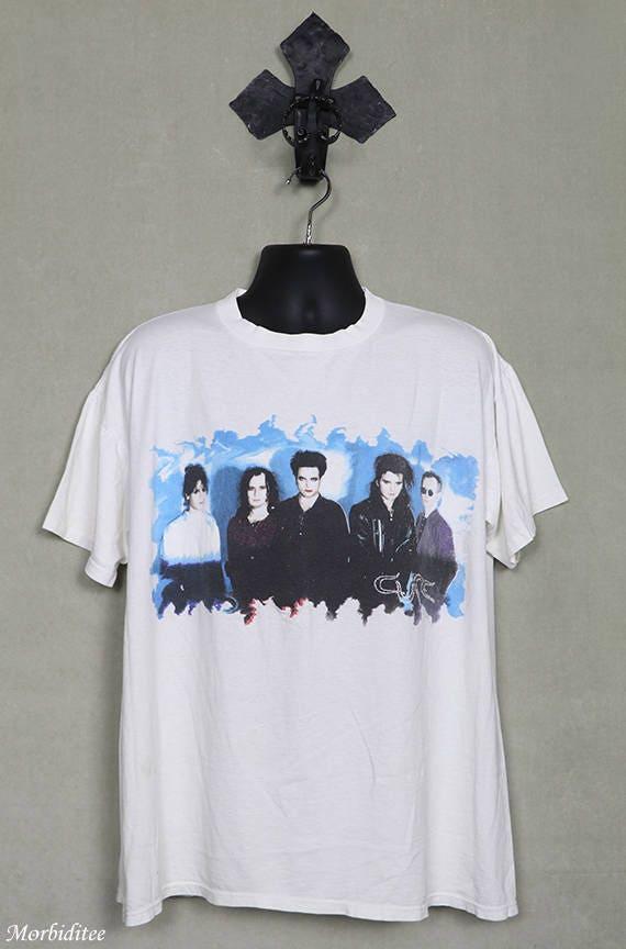 The Cure, Wish tour vintage rare T-shirt, 1992, wh