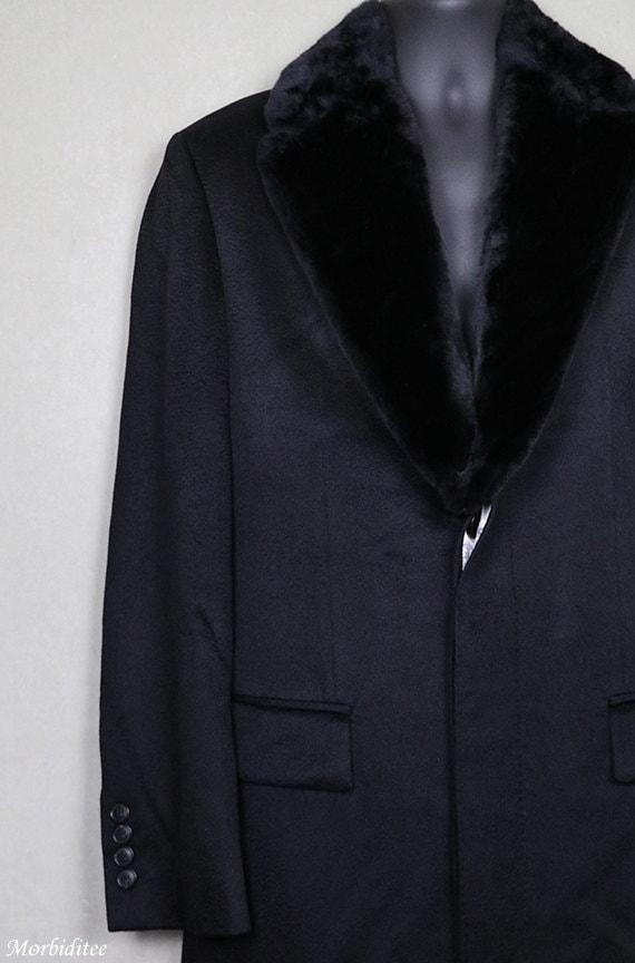 Hugo boss mantel schwarz