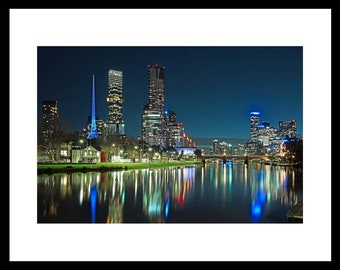 Melbourne Night Photography, Wall Art
