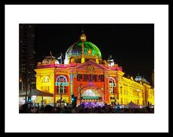 Flinders Street Station, Melbourne Photograph