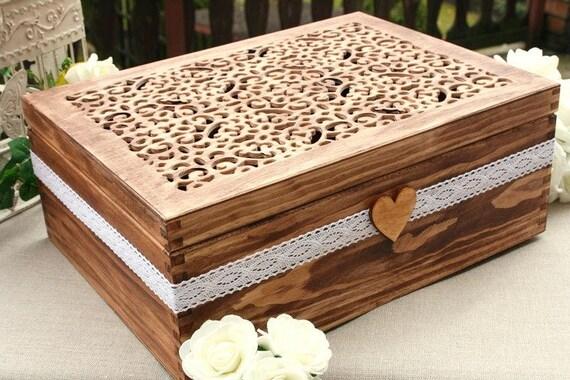 Wedding Card Box Wedding Envelope Box Wedding Money Box | Etsy