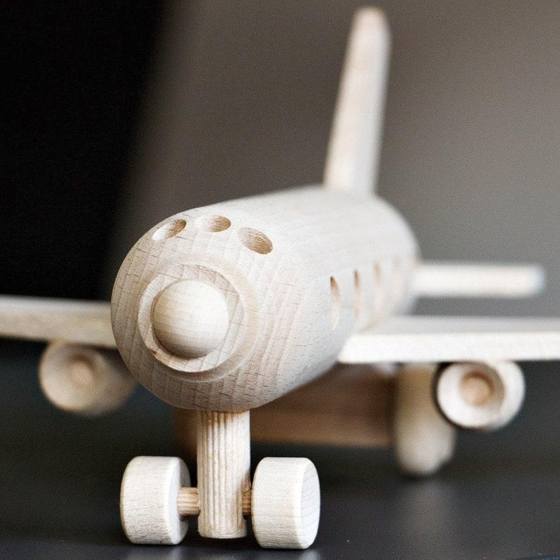 Wooden plane Toy Wooden Airplane Montessori Toy Airplane toy Eco Toy Wooden Toy Passenger Plane Toy