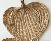 small woven fan