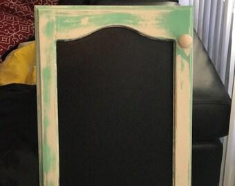 Cabinet Chalkboard Menu Board