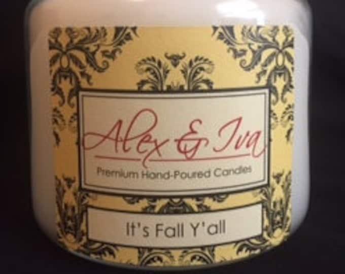It's Fall Y'all - 22 oz. jar
