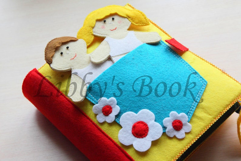 Quiet book for toddler  Montessori educational toy  busy image 0