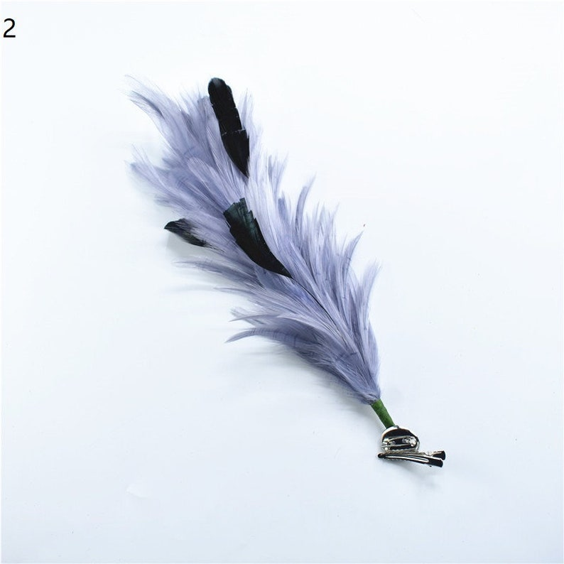 1 Bunch Pheasant Feather Flower Wedding Corsages Feathers for Crafts Handwork Headdress Home DIY Accessories Headdress Carnival