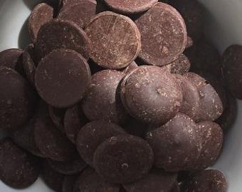 70% Organic Dark Chocolate Cocoa Wafers FREE SHIPPING Samples,4,8,12,16oz 1,1.5,2lbs