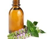Peppermint Oil (Mentha Piperita) Essential Oil Steam Distilled FREE SHIPPING 1 2,1,2,4oz