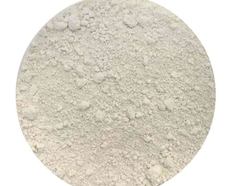 White Kaolin Clay FREE SHIPPING Samples 1/2,1,2,3,4,6,8,12,15/16oz 1,2,3,4,5lbs