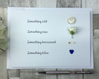 Something Old, Something New, Something Borrowed, Something Blue Card