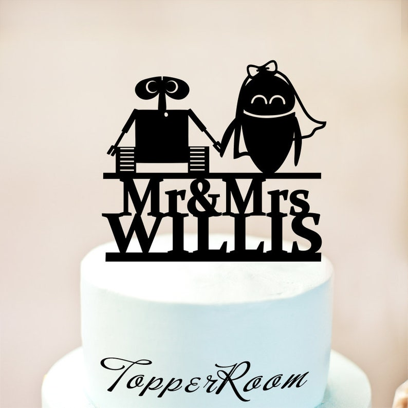 Wall E Und Eva Hochzeitstorte Topper Cake