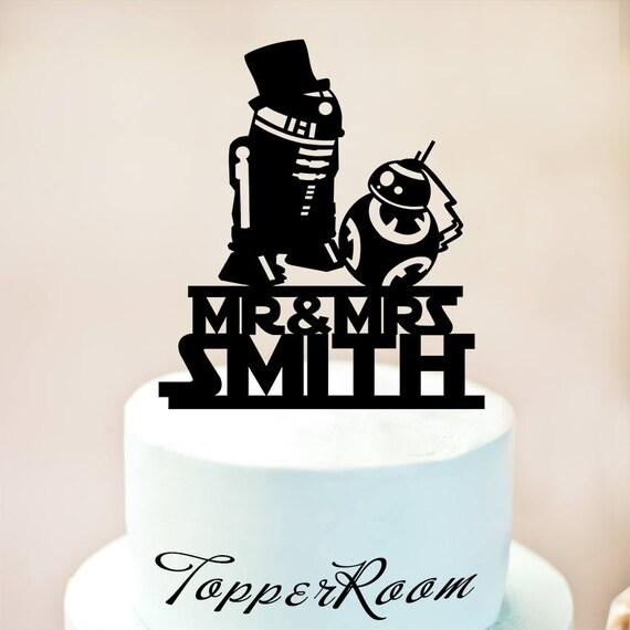 r2d2  u0026 bb8 cake topperstar wars wedding cake topperstar wars