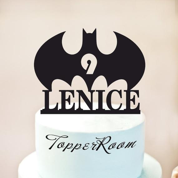 Batman Cake TopperBatman Birthday