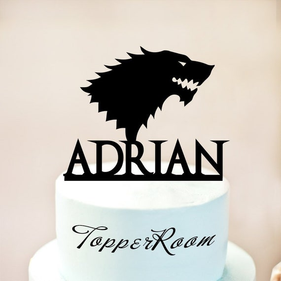 Cake Topper Game Of ThronesGame Thrones BirthdayDaenerys