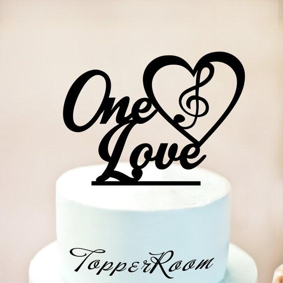Music Cake Topper Note Cake Topper Music Birthday Cake Etsy