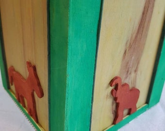 handmade recycled wooden box