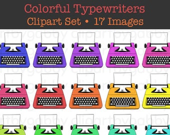 Colorful Typewriters