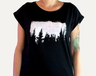 fdaef73af95 Pine Trees Screen Print Shirt
